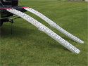 EXTREME MAX 7.5' Arched Folding Mesh Ramp Set - Heavy Duty 1,500 lb Capacity