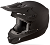 FLY KINETIC MATTE BLACK HELMET (2015)