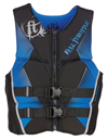 FULL THROTTLE MEN'S HINGED RAPID-DRY FLEX-BACK VEST - BLUE