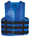 FULL THROTTLE ADULT DUAL-SIZED RAPID-DRY VEST - BLUE