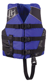 FULL THROTTLE CHILDREN'S NYLON SPORTS VEST - BLUE (3005.6523)