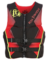 FULL THROTTLE MEN'S HINGED RAPID-DRY FLEX-BACK VEST - RED