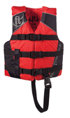 FULL THROTTLE CHILDREN'S NYLON WATER SPORTS VEST - RED (3005.6513)