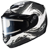 HJC CS-R2 CONTRAST SNOW HELMET w/ELECTRIC SHIELD (2016)
