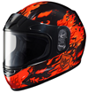 HJC CL-Y Youth FLAME FACE SNOW HELMET (2016)
