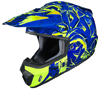 HJC CS-MX II GRAFFED SNOCROSS HELMET (2016)