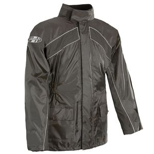 JOE ROCKET RS-2 RAIN SUIT - Black Jacket