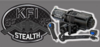 KFI PRODUCTS Stealth 4500lb Synthetic KFI Winch - SE45