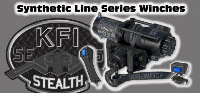 KFI STEALTH SERIES WINCH