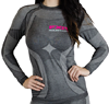 FXR Women's VAPOUR  SEAMLESS COMPRESSION LONGSLEEVE TOP (2015)