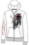 Slednecks Surgical Zip-Up Hoody White